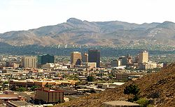 File photo of El Paso skyline