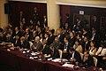 El Presidente Rafael Correa y el Canciller Ricardo Patiño en la cumbre de Presidentes de la MERCOSUR y Estados Asociados, en Montevideo (6545825033).jpg