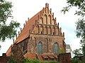 Elbląg, Wodna, Galerie EL, průčelí bývalého kostela.JPG