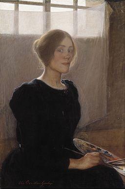 Elin Danielson-Gambogi - Self-Portrait - Google Art Project