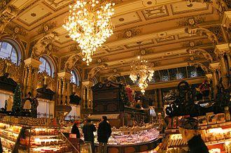 Food hall - Eliseevsky Gastronom, Moscow
