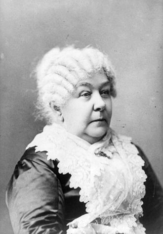 Elizabeth Cady Stanton - Elizabeth Cady Stanton in her later years