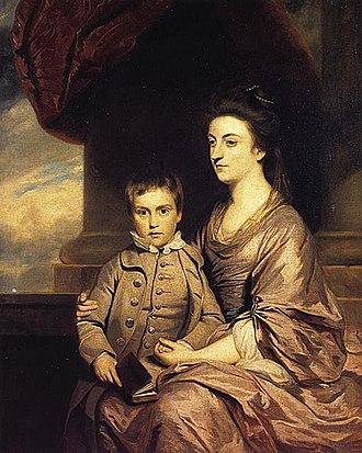 Elizabeth Herbert, Countess of Pembroke and Montgomery - The Countess of Pembroke and her son