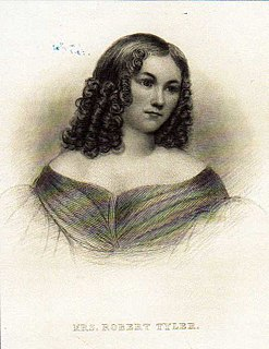 Priscilla Cooper Tyler First Lady of The United States