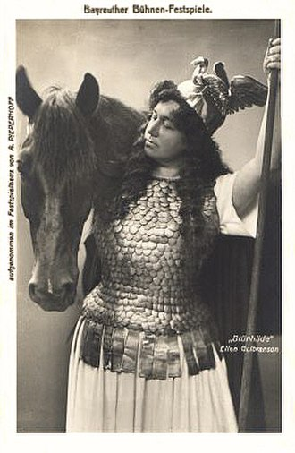 Ellen Gulbranson - Ellen Gulbranson as Wagner's Brünnhilde.