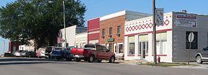Elmwood, Nebraska - Downtown Elmwood: 4th Street