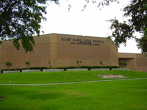 Alief Elsik High School - Image: Elsik High School Houston