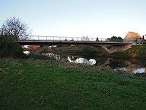 Elsterbrücke Döhlen (S 68) die Straße zwischen Döhlen und Wiederau überführend Ende Oktober 2017.jpg