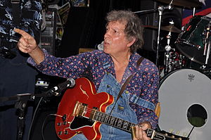Elvin Bishop performing at Boston's On The Bea...