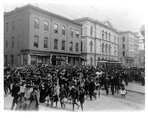 Juneteenth - Emancipation Day celebration in Richmond, Virginia in 1905