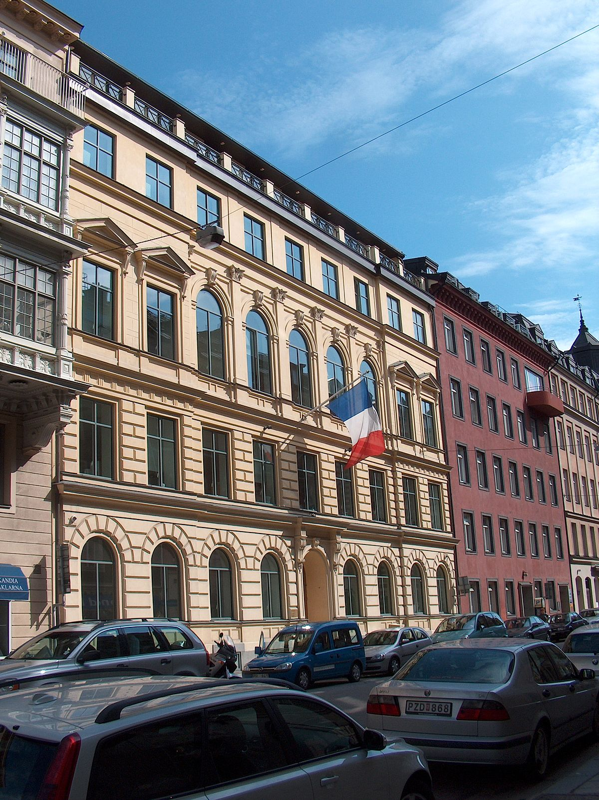 Embassy of France, Stockholm - Wikipedia