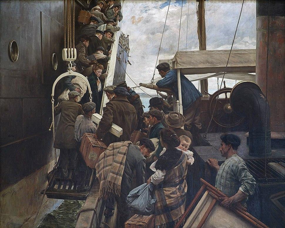 Emigrantes, por Ventura Álvarez