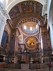 La cappella di San Domenico, nella Basilica di San Domenico (Bologna)