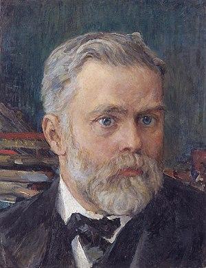Emanuel Nobel - Emmanuel Nobel (Valentin Alexandrovich Serov, 1909)
