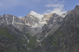 Naltar Valley - Mountains of Naltar, on the foothills of which, Skiing is a popular sport.