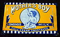 Enamel advertising sign, Other's Boy.JPG