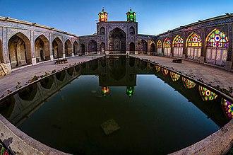 Nasir ol Molk Mosque - Image: Enchantment 1