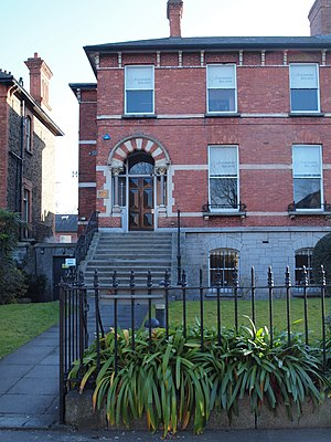 Institution of Engineers of Ireland - At the headquarters of Engineers Ireland, 22 Clyde Road, Dublin 4