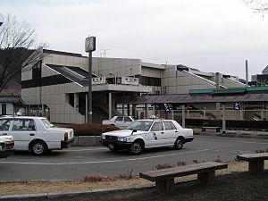 Enzan Station - North Exit of Enzan Station