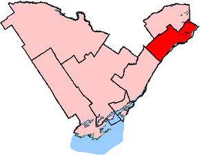 Carte de la circonscription