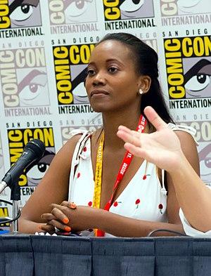 Erika Alexander - Alexander at Comic-Con in 2012