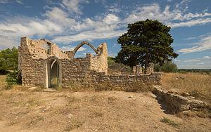Castelnau-de-Guers - Ruins of the Hermitage Saint-Antoine