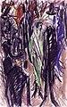 Ernst Ludwig Kirchner Straßenszene mit grüner Dame 1914.jpg