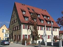 The hotel Weißer Löwe in Eschenau, municipality of Eckental, in Bavaria, Germany.