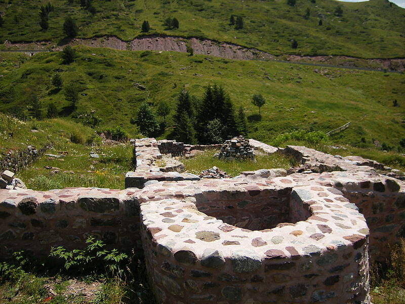 ruinas del Hospital de Santa Cristina
