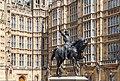 Estatua de Ricardo I de Inglaterra, Londres, Inglaterra, 2014-08-07, DD 017.JPG