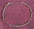 Età romana, collana a maglia d'oro, da villa rustica di via degli olmi a sesto f.no.JPG