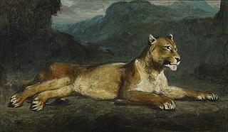 Lioness Reclining
