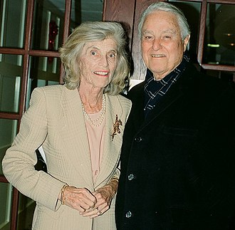 Sargent Shriver - Eunice and Sargent Shriver in 1999