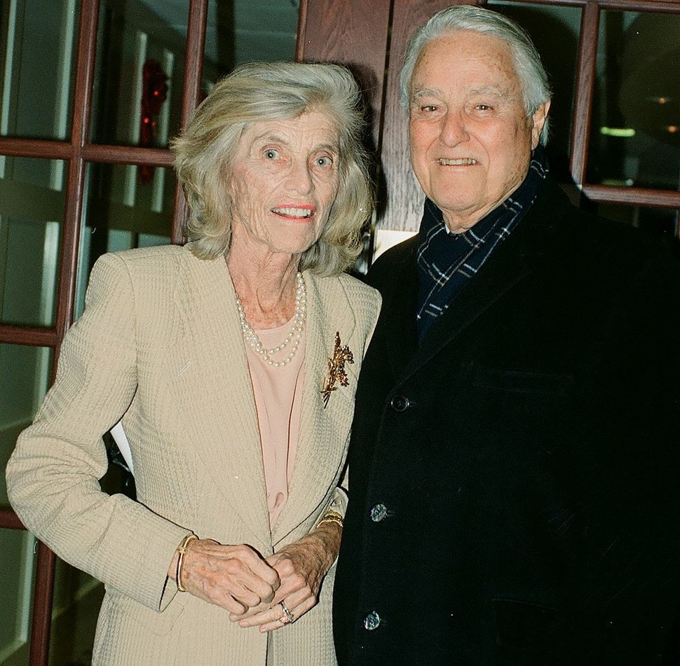 Eunice Kennedy Shriver and Sargent Shriver