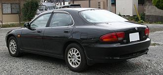 Mazda Xedos 6 - The rear of a Eunos 500.