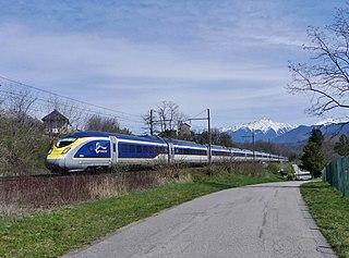 British Rail Class 374 Eurostar high speed train