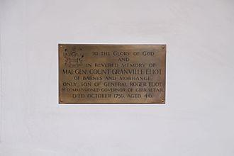 Granville Elliott - To commemorate Granville Elliott in the Church of Rodheim (Germany)