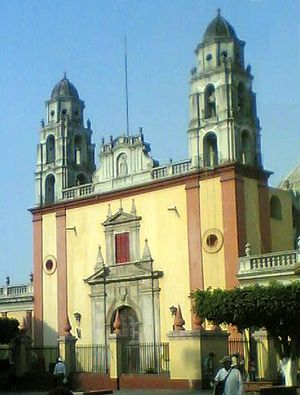 Cuautla, Morelos - La Iglesia de Santiago Apostol