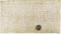 Exemption accordée par Louis-le-Pieux à l'abbaye de Saint-Maur-des-Fossés 1 - Archives Nationales - AE-II-47.jpg