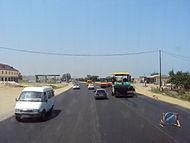Expansion of highways in Dagestan.JPG