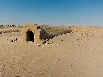 El-Kurru - Image: Exterior of one of the ancient Nubian tombs at El Kurru near Karima