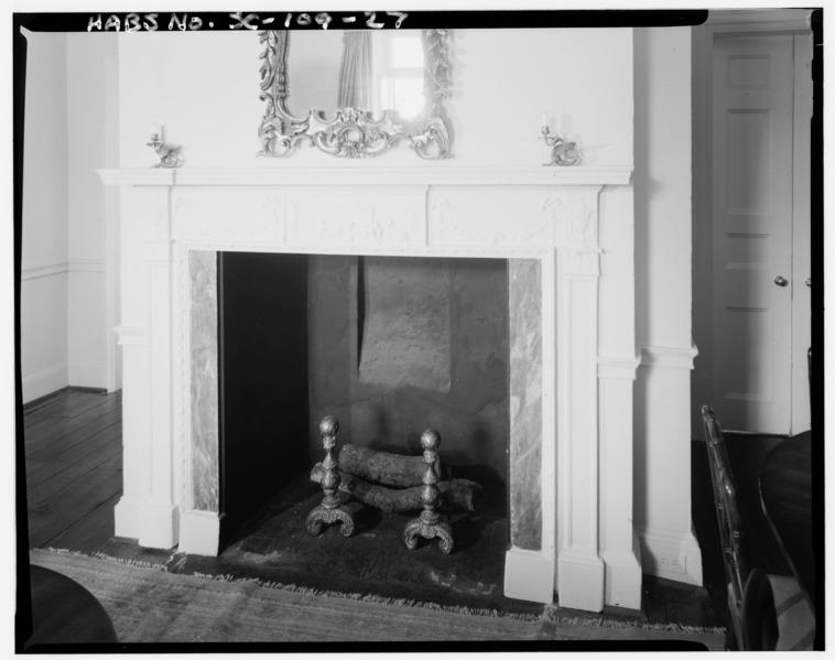 File first floor northwest room mantel detail william for 130 william street 5th floor