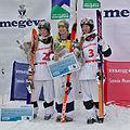 FIS Moguls World Cup 2015 Finals - Megève - 20150315 - Justine Dufour-Lapointe, Hannah Kearney et Chloé Dufour-Lapointe 3.jpg