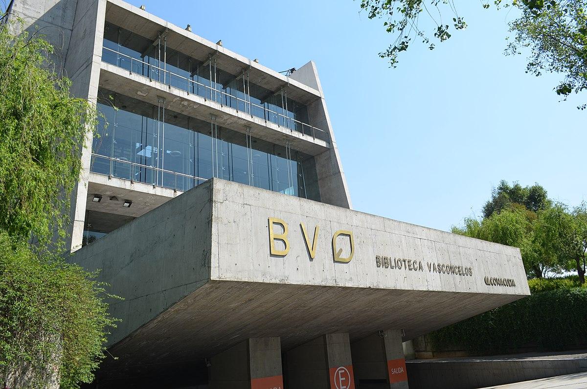 Biblioteca Vasconcelos Wikipedia