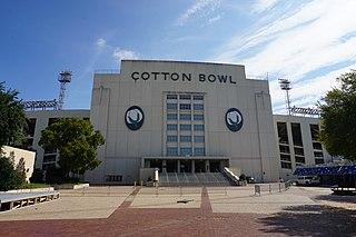 Cotton Bowl (stadium) stadium in Dallas, Texas, United States