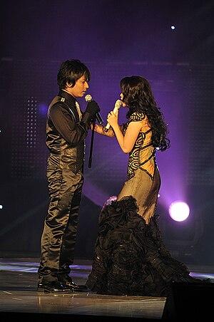 Rossa (singer) - Image: Faizal Tahir & Rossa 2