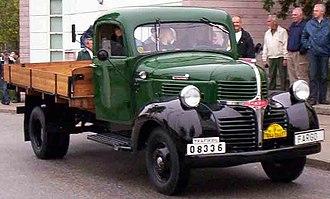 Fargo Trucks - 1946 Fargo FK2-33 badged version of the Dodge T-, V-, W-Series