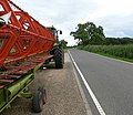 Farm machinery at Thistley Cottages - geograph.org.uk - 506220.jpg