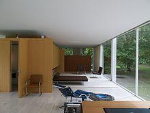 Farnsworth house wikipedia for Casa minimalista wikipedia