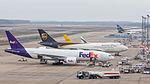 Fedex, Boeing 777F, N856FD and UPS, Boeing 747-400F, N574UP, Cologne Bonn Airport-7172.jpg